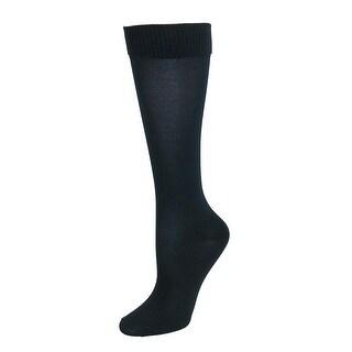 Jefferies Socks Girl's School Uniform Nylon Knee High Socks