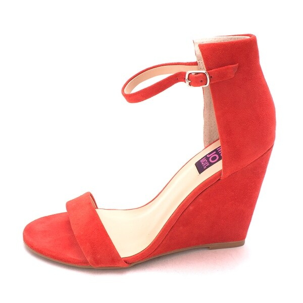 Mojo Moxy Womens Sorbet Leather Open Toe Casual Ankle Strap Sandals - 8.5