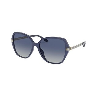 Link to Tory Burch TY9059U 183214 56 Navy Woman Irregular Sunglasses Similar Items in Women's Sunglasses