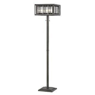 Zlite Z16-58FL 14 x 14 x 60.5 in. Meridional Bronze Floor Lamp