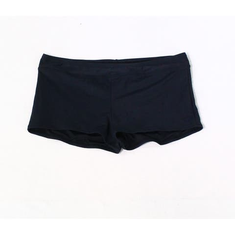 Carve Designs Black Women's Size Large L Boy Shorts Swimwear