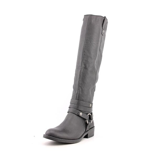 Style & Co. Womens Amber Almond Toe Knee High Fashion Boots