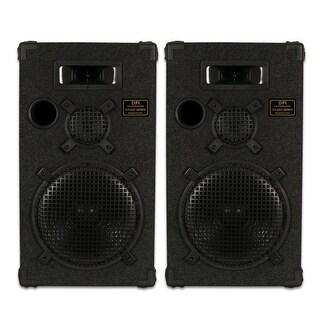"Goldwood Sound DPI-1200C/8 Passive 12"" Speaker Pair 3-Way PA DJ Karaoke Home"