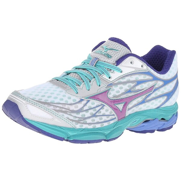 Mizuno Womens Wave Catalyst Low Top Lace Up Tennis Shoes