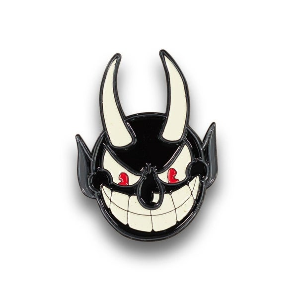 The Devil From Cuphead EXCLUSIVE Cuphead Devil Enamel Collector PinFeat