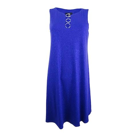 MSK Women's Sleeveless Embellished Shift Dress