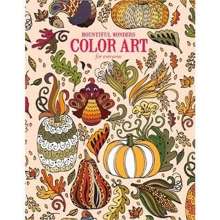Leisure Arts-Bountiful Wonders Color Art