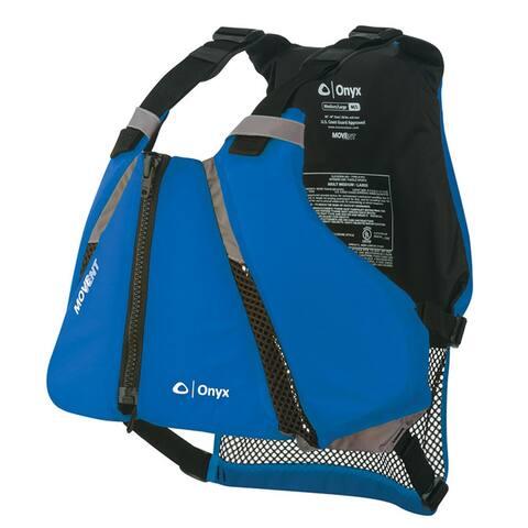 Onyx movement curve paddle sports life vest xs/s blue