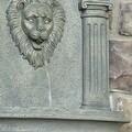 Sunnydaze Imperial Lion Solar Wall Fountain - Thumbnail 12