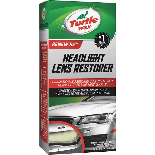 Turtle Wax Headlight Lens Restorer
