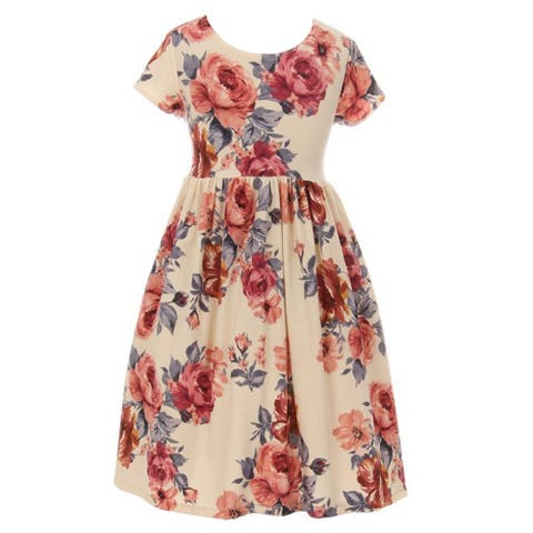 246330bf65 Buy Girls' Dresses Online at Overstock | Our Best Girls' Clothing Deals