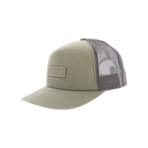 Shop Hurley Mens Waxed Ball Cap Logo Adjustable O S