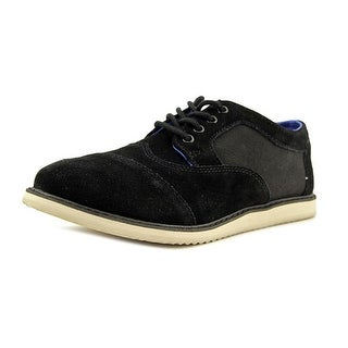 Toms Brogue Round Toe Suede Oxford