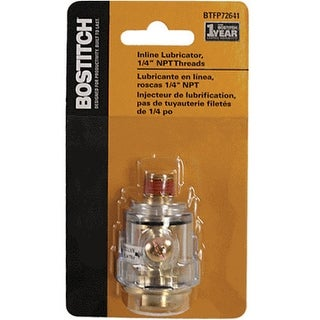 Bostitch BTFP72641 Inline Lubricator, 1/4""