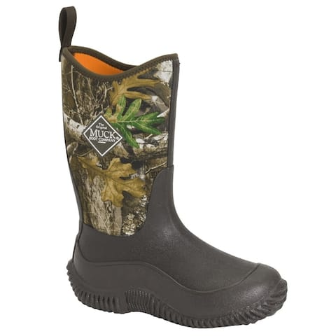 Muck Boot Muck Hale Realtree Edge Pull On Kids Boys Boots Mid