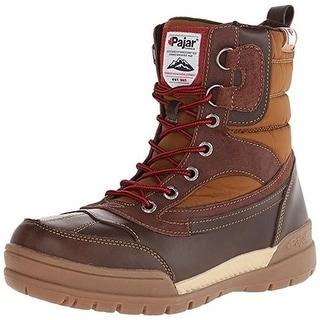 Pajar Mens Bane Leather Waterproof Snow Boots - 9 medium (b,m)