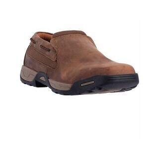 Dan Post Work Shoes Mens Columbus Oxford Soft Toe Brown DP67621