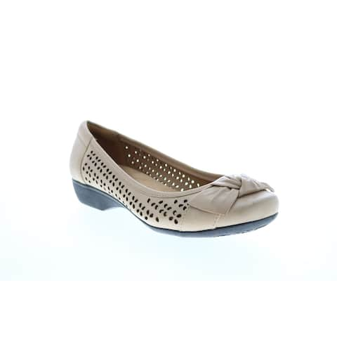 Clarks Propose Band Nude Womens Ballet Flats