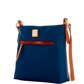 Dooney & Bourke Windham Daisy Letter Carrier (Introduced by Dooney & Bourke at $138 in Jul 2016) - Navy