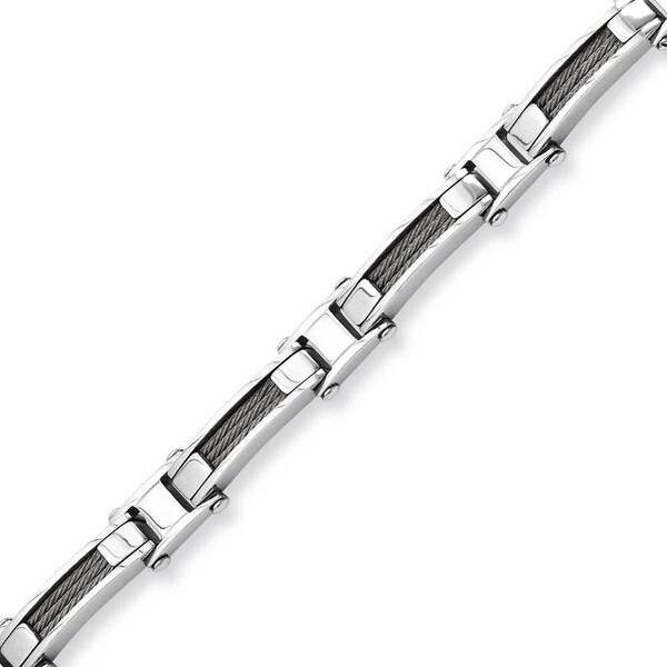 Stainless Steel Wire 8.5in Bracelet