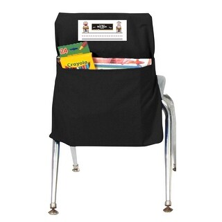 Seat Sack 14 In. Durable Small Storage Pocket, Black