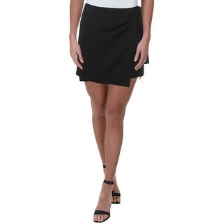 Link to Theory Womens Wrap Skirt Wrap Tie - Black Similar Items in Skirts