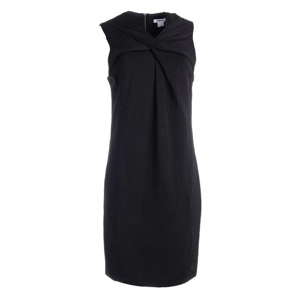 Helmut Lang Womens Wear to Work Dress Twist Front Sleeveless