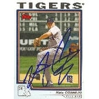 Nate Cornejo Detroit Tigers 2004 Topps Autographed Card This item comes with a certificate of auth