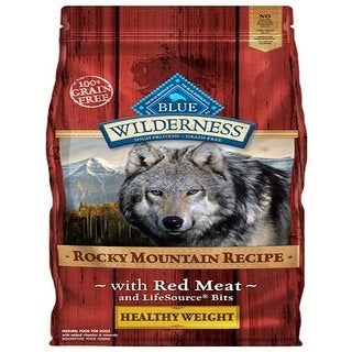 Link to Blue Buffalo Dog Wilderness Rocky  Mountain Red  Healthy Weight 22 Lbs. - 22 lbs Similar Items in Dog Food & Treats