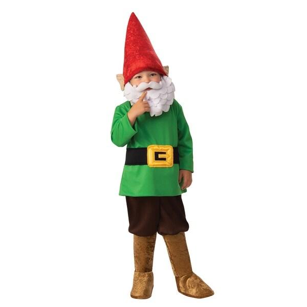 Size// Disguise Garden Gnome Child Costume Multi Color 2T