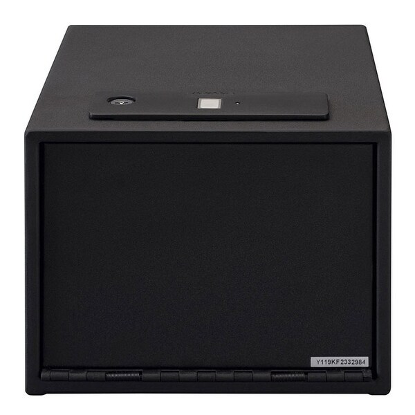 Stack On Quick Access Safe With Biometric Lock Shelf