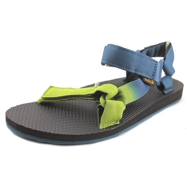 Teva Original Universal Gradient Men Open-Toe Canvas Blue Sport Sandal
