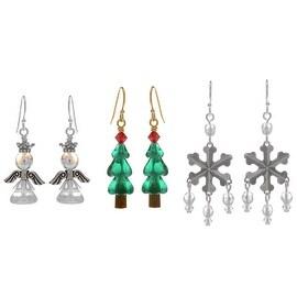Classic Christmas Earring Set - Exclusive Beadaholique Jewelry Kit