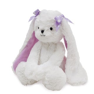 Bedtime Originals White Lavender Woods Plush Bunny - Sasha