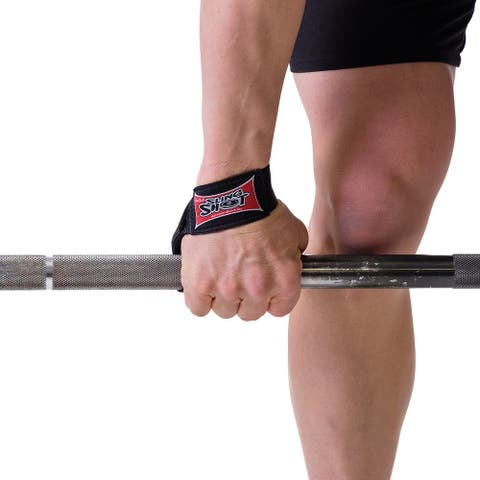 Sling Shot Nylon Weight Lifting Straps by Mark Bell - Simple loop design! - One Size