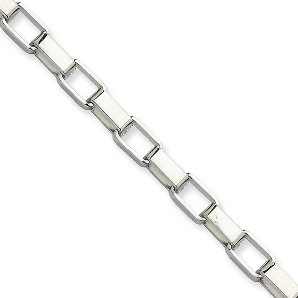 Chisel Stainless Steel 4.8mm 22 Inch Square Link Chain (4.8 mm) - 22 in