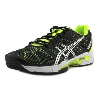 Asics Gel-Solution Speed 2 Men  Round Toe Synthetic Black Running Shoe