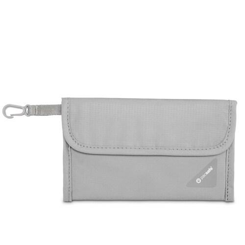 Pacsafe Coversafe V50-Neutral Grey RFID Blocking Passport Protector