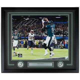 Nick Foles Signed Framed 16x20 Eagles SB 52 Philly Special Photo Fanatics