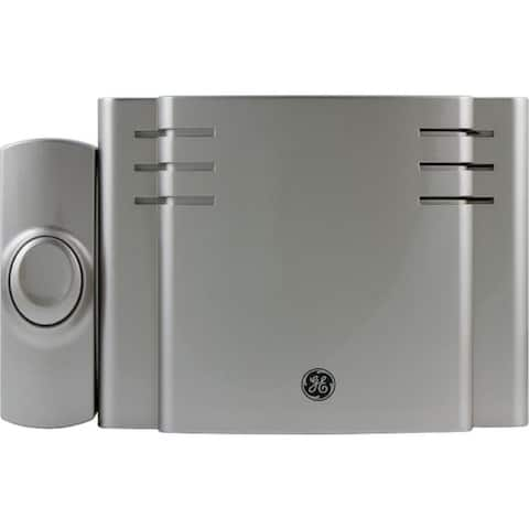 GE Battery-Operated Wireless Door Chime - Gray
