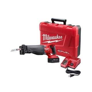 Milwaukee M18 Fuel Sawzall Reciprocating Saw Kit - Red