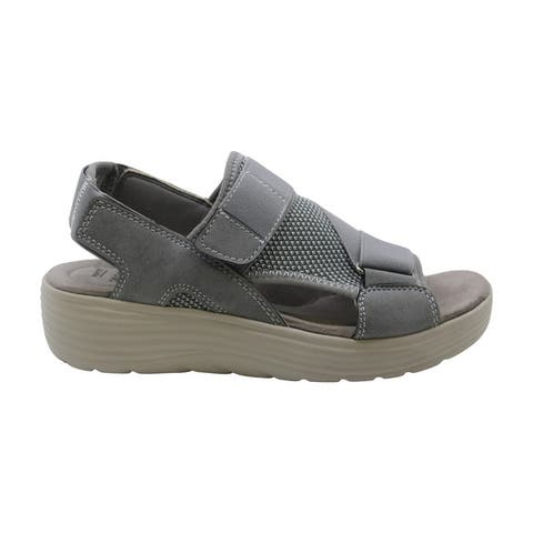 Earth Origins Womens willow genevieve Open Toe Casual Strappy Sandals