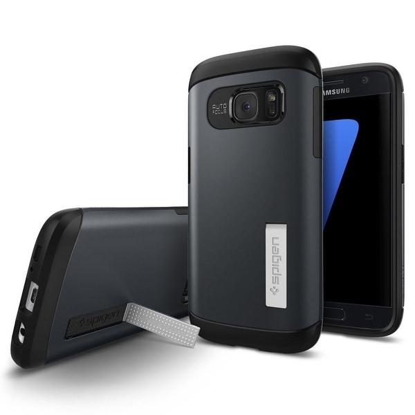 Spigen Slim Armor Case Samsung Galaxy S7 - Metal Slate