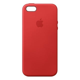 Apple Cell Phone Case for iPhone 5, iPhone 5S, iPhone SE - Red (MNYV2ZM/A)