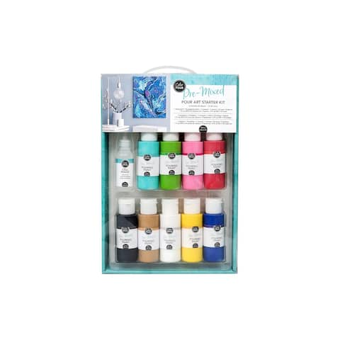 AMC Color Pour Starter Kit - White