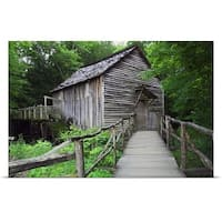 Poster Print entitled Cable Mill at Cades Cove, Great Smoky Mountains National Park, Tennessee