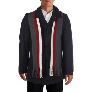 Tommy Hilfiger Mens Wool Jacket Basic Coat