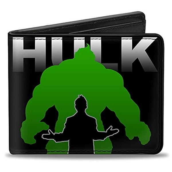 Buckle-Down Bifold Wallet Totally Awesome Hulk