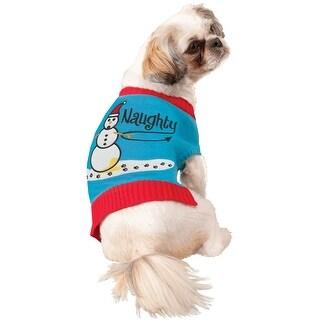 Forum Novelties Naughty Sweater Pet Costumes (S)