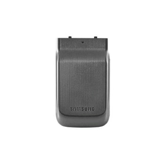 OEM Samsung U750 Alias 2 Extended Battery Door / Cover - Gray (Bulk Packaging)
